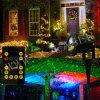 夜星のレーザー光線のクリスマスの装飾ライト