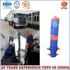 Cylindre hydraulique télescopique de support avant pour des camions à benne basculante de JAC