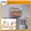 L'hormone de stéroïdes pharmaceutique de vente chaude marque sur tablette Clomifene Citrate/Clomid