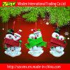 Pupazzo di neve Handmade Holiday Christmas Ornament e Decoration