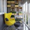 Moderner einfacher preiswerter Ei-Stuhl