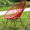 옥외 가구 알루미늄 등나무 계란 의자 (S280)