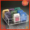 Plateau cosmétique acrylique d'affichage de boîte acrylique de maquillage