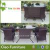 総合的な藤の家具の庭の柳細工のコーヒーテーブルおよび椅子(CF1245)