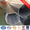 achteckiger sich verjüngender elektrischer Stahl Pole des 110kv Sicherheitsfaktor-1.8