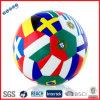 Drapeaux du monde de boule du football imprimés