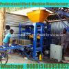 Qt4-24 manueller Tanzania blockierenziegelstein-Maschinen-Preis