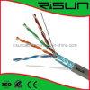 Câble RoHS/Cm/Cmr/PE/LSZH de ftp Cat5e de qualité