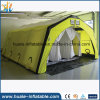 Tente gonflable campante de pliage extérieur de grand tissu jaune d'Oxford