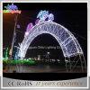 Luzes ao ar livre grandes do arco do diodo emissor de luz da luz de Natal do diodo emissor de luz da promoção 6m