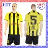 熱い販売の卸売のワールドカップのサッカーのユニフォームはサッカーのジャージーのチームユニフォームをセットした