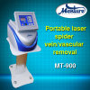Máquina portátil da remoção da veia da aranha do laser do melhor diodo do resultado de tratamento 980nm