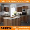Проект Дешевые Меламин Оливковое дерево зерна Кухни (ОП-14-M08)