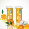 Vitamina C+E Effervescent Tablet (Flavor alaranjado) 10 Pieces Healthcare Health Food Nutritional Supplement