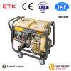 De diesel Generator van de Lasser met de Betrouwbare Motor van de Kwaliteit (het Witte Geval van de Ventilator)