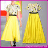 ばねかSummer 2014年のNew Style Women Yellow Evening Dress