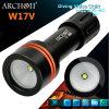 100 Meter imprägniern CREE LED U2 860 der Lumen-Aluminiumlegierung-5000 K Taschenlampe W17V Farben-Temperaturkleine des Portable-LED