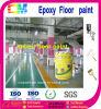 Auto-Parken-Bodenbelag-Projekt-Kleber-konkrete Fußboden-Farbe