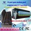 SMS a granel de 16 puertos GSM Modem piscina