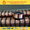 Fil de soudure d'Aws Er70s-6 appliqué pour la structure métallique faiblement alliée