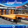 12m Aanhangwagen van de Vrachtwagen van de Lader van 2 As de Lage met Mechanische Ladder