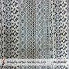 Tissu géométrique de lacet de coton de vente chaude (M3042)