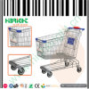 Chromed тележка вагонетки покупкы супермаркета для сбывания