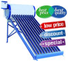 Baixo/calefator de água compato de alta pressão/Non-Pressurized do coletor do sistema de aquecimento de água quente da energia solar de câmara de ar de vácuo do aço inoxidável (100L//150L//200L/250L/300L)