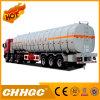 Reboque líquido químico resistente do tanque do transporte de 3 eixos