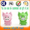 생일 Gift USB Stick Cartoon Pigs 1GB USB Flash Drive