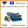 2015 conception Glazed Metal Roof Tile Roll Forming Machine Production Line pour Steel Building