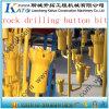 Тип биты резьбы кнопки T38 для Drilling утеса