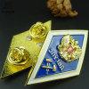 La policía de encargo del metal del Pin del esmalte del bastidor de la aleación de la decoración del hogar de la fábrica de la fuente Badge