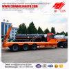 De goedkope Zware Machine die van de Prijs Flatbed Vrachtwagen van het Slepen voor Verkoop dragen