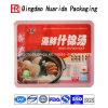 Empacotamento plástico dos sacos do alimento da sopa de macarronete do logotipo feito sob encomenda