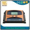 10 controlador solar manual da carga do elevado desempenho PWM do ampère