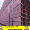 Baustahl-Quadrat-kohlenstoffarmes geschweißtes Stahlrohr