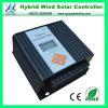 24V 600W 풍력 태양 광 하이브리드 PWM의 LCD 태양 광 충전 컨트롤러 (QW-600OY)