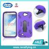 Tough caja del teléfono celular delgado Armor para Samsung Galaxy Nota 2