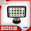 45 와트 스퀘어 LED 작업 램프 4X4 오프로드 차량 및 트럭