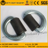 Black Carbon Steel Drop Forged Lashing D Ring avec Clip