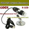 600X USB Microscope Camera, 20-200X, 0.3m CMOS Sensor, White Light LED X8 PCS