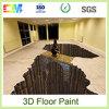 Pintura excelente del suelo de la resina del epóxido 3D de la adherencia