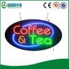Signe DEL de café de DEL annonçant le signe ouvert du signe DEL (HSC0268)
