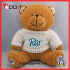 Urso da peluche da camisola do logotipo do bordado do urso da peluche da promoção para a promoção