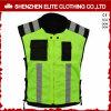 Het nieuwe Fluorescente Groene Weerspiegelende Vest van het Ontwerp (elthvvi-12)