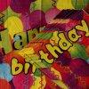 인쇄된 종이 냅킨 생일 파티 냅킨 식기