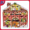 Calendario de madera decorativo del advenimiento de la Navidad