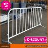 Barrière enduite de contrôle de foule en métal de poudre/barricades/barrière en acier de contrôle foule de concert