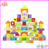 Numbers (W13B008)を用いる72 PCS Wooden Building Blocks、